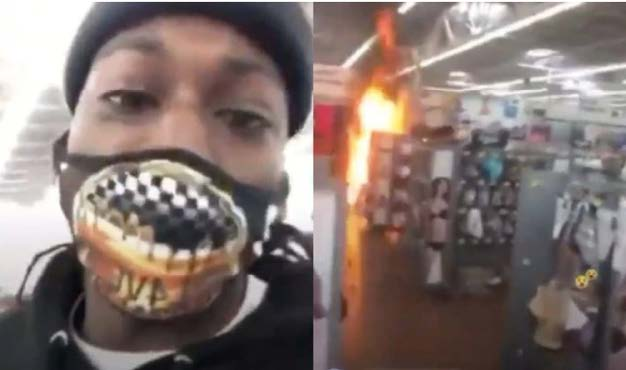 New Jersey man puts out fire inside Walmart with extinguisher