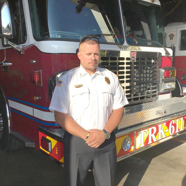 Windber man saves own home with fire extinguisher